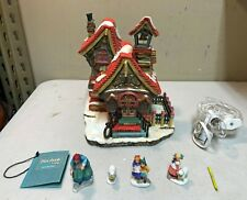 Department 56 Storybook Village Lighted Lambsville School - 1996 Item 13194