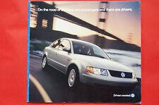 1998 Volkswagen VW Full Line GTI Golf Passat Jetta Cabrio Brochure
