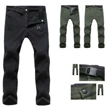 Men Warm Cargo Combat Work Pants Thick Thermal Tactical Waterproof Trousers
