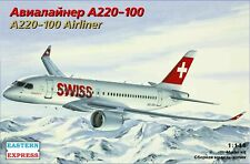 Eastern Express 1/144 AIRBUS A220-100 SWISS / DELTA EE144133