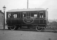 PHOTO LNER London and North Eastern Railway ex-NER petrol railcar York 1928
