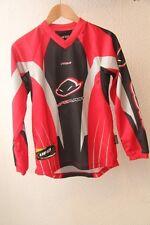 Original maillot ML Velo VTT UFO PLAST  Pro1  T: XXXS  5 - 6 ans rouge noir neuf