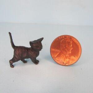 Dollhouse Miniature Halloween Black Cat Decor or Pet MUL5622