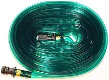 15m Garden lawn watering sprinkler Soaker Hose Water Extendable NEW