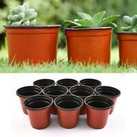 100Pcs Garden Plastic Plants Nursery Pot/Pots Seedlings Flower Plant Container