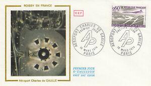 (86518) France FDC Charles de Gaulle Airport Paris 1974
