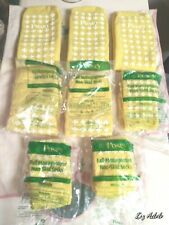 Posey Fall Management Hospital Socks 8 Pr. Yellow non skid 5 New Sealed 3 open