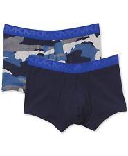 Men Underwear Modern Fit Stretch Factor Trunks 2 Paak Michael Kors Navy Camo