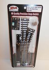 Atlas HO Scale Code 100 Nickel Silver Right Remote Snap-Switch #851 NIP