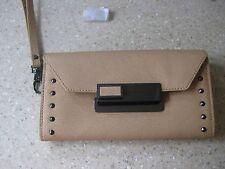 Hayden Harnett  Ellis  Saffiano Tan  Leather Wallet, NWT