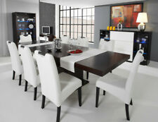 Dining Table Wooden Wood Room Solid Extendable Living New