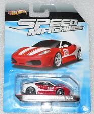 Totalmente nuevas máquinas de velocidad Hot Wheels Ferrari F430 Challenge largo tarjeta rara