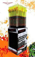 12 Black Eagle Zombie Slayer Fletched CRESTED Carbon Arrows 350/.003 350 1 dozen
