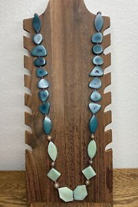 NWT Noonday Collection Long Beaded Necklace