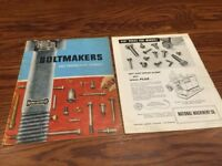 Vintage National Machinery Co. Boltmakers And Progressive Headers Brochure 1980s