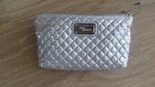 BNWOT SILVER JANE NORMAN MAKE UP  BAG