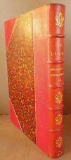 Octave UZANNE - Le LIVRE Bibliographie rétrospective 7e année 1886 1/2 maroquin