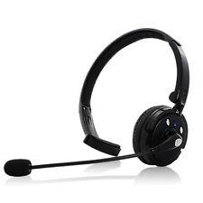 Cuffia Auricolare Con Microfono A Braccio Doppia Connessione Telefonica