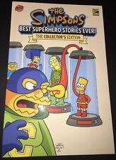 Simpsons Best Superhero Stories Ever #1 NM Signed Sketched Bill Morrison SDCC