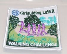 Girl Guiding LaSER Walking Challenge Patch