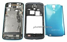 Samsung Galaxy S4 Active i537 i9295 AT&T Blue Housing Cover Speaker Camera Lens