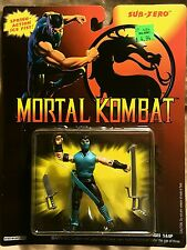 "GI Joe Mortal Kombat Sub Zero Action Figure 3 3/4"" Hasbro 1994"