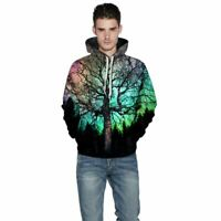 Unisex Hooded Mens Womens Hoodie Sweatshirt Tops 3D Print Graphic Pullover