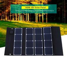 Foldable 180W 18V Solar Panel Power Module Portable For Phone Laptop Tablet PC