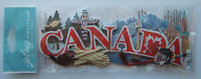 Jolee's Boutique CANADA Title Wave Dimensional Stickers; CANADIAN Vacation Trip
