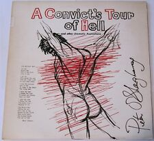 Australiana Vinyl - A Convict's Tour Of Hell LP Peter O'Shaughnessy POEM VINYL