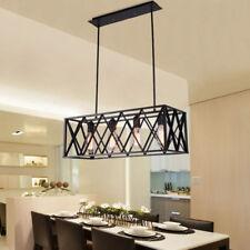 Kitchen Pendant Light Bar Lamp Black Ceiling Lights Vintage Chandelier Lighting