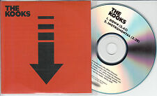 THE KOOKS Down 2014 UK numbered 2-trk promo test CD
