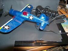 Air Forces Wired Remote Control Vintage Pilots  Plane  made by GoldLok