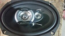"FOCAL AUDITOR R-690C CAR 6""X9"" COAXIAL 320W MAX 3-WAY SPEAKERS REAL PICTURES"