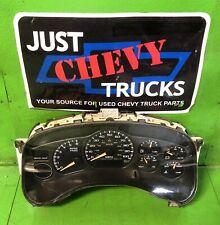 00 01 02 Chevy Silverado GMC Sierra Yukon 1500 Speedometer Gauge Cluster 166K