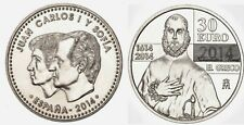ESPAÑA, SPAIN, ESPANIEN 2014.MONEDA COIN 30 EUROS DE PLATA EN BLISTER ORIGINAL