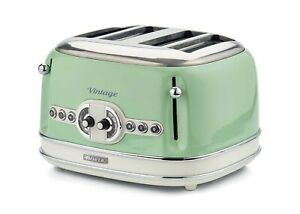 Ariete Tostapane Toaster Vintage 4 fette verde 156 garanzia ITALIA