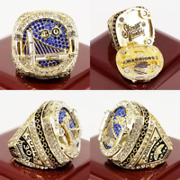 2017-2018 Golden State Warriors Championship Ring NBA Champion Premium Size 9-14