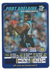 2005 Teamcoach Blue Star Premium Prize Card (119) Byron PICKETT Port Adelaide