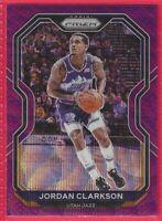 2020-21 Panini Prizm Jordan Clarkson Purple Wave Prizm #135 Utah Jazz