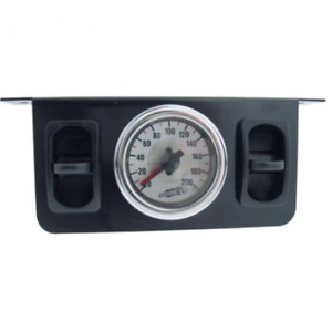 VIAIR 26229 Dual Needle Gauge with two paddle switches 200 PSI