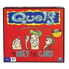 Quelf Unpredictable Party Board Game Obey The Card 2011 Spin Master Complete