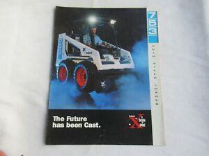 Bobcat 753 skid steer loader  brochure
