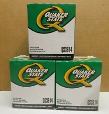 Lot of 3 Engine Oil Filter Quaker State QS3614 new NIB