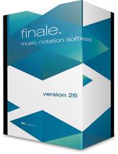 MakeMusic Finale 26 | Lifetime | for Windows - Fast Digital Delivery