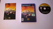 Need for Speed Undercover PS2 Black Label PAL Ita