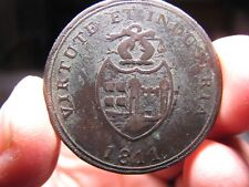 Bristol Brass & Copper Co. penny token 1811 Virtute et Industria- Withers 430-44