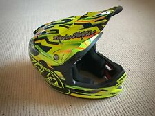 Troy Lee Designs D3 Carbone MIPS Full Face Mountain Vélo Casque code-Jaune xxl