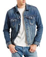 LEVI'S MEN'S DENIM TRUCKER JACKET Style # 723310140  Size: L
