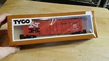 HO SCALE TRAIN Car IN BOX VINTAGE TYCO NH NEW HAVEN ORANGE BLACK NH 35688